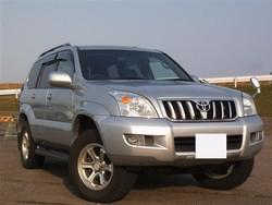 Toyota Land Cruiser Prado TZ VZJ121W 2004 Used Car