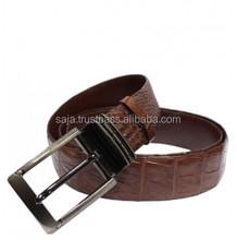 Crocodile leather belt for men SMCRB-019