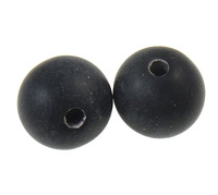 Clearance Acrylic Beads Round frosted mixed colors 12mm Hole:Appr 2.5mm 5KG/Lot Sold By Lot