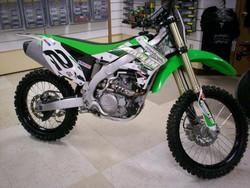 Brand New 2014 Kawasaki KX450F