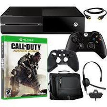 One Console 500GB Bundle with Cod Advanced Warfare &