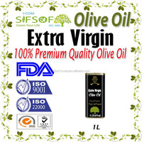 Cold Pressed Extra Virgin Olive Oil. A'Quality Extra Virgin. 100% Extra Virgin Olive Oil. metallic Tin 1L