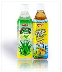 Natural Aloe Vera with green tea