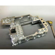 High quality brass robot arm parts with clean finish made in Japan