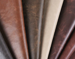 Antique Crazy Horse leather cow hides for shoes leather