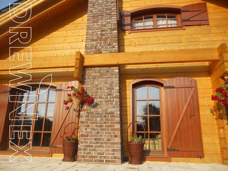 Wooden log house Nowela na polanie