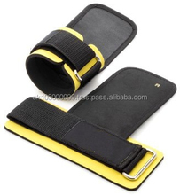 Weight Lifting Straps - With Built in Adjustable Wrist Support Wrap and Palm Protecting Grip Pads