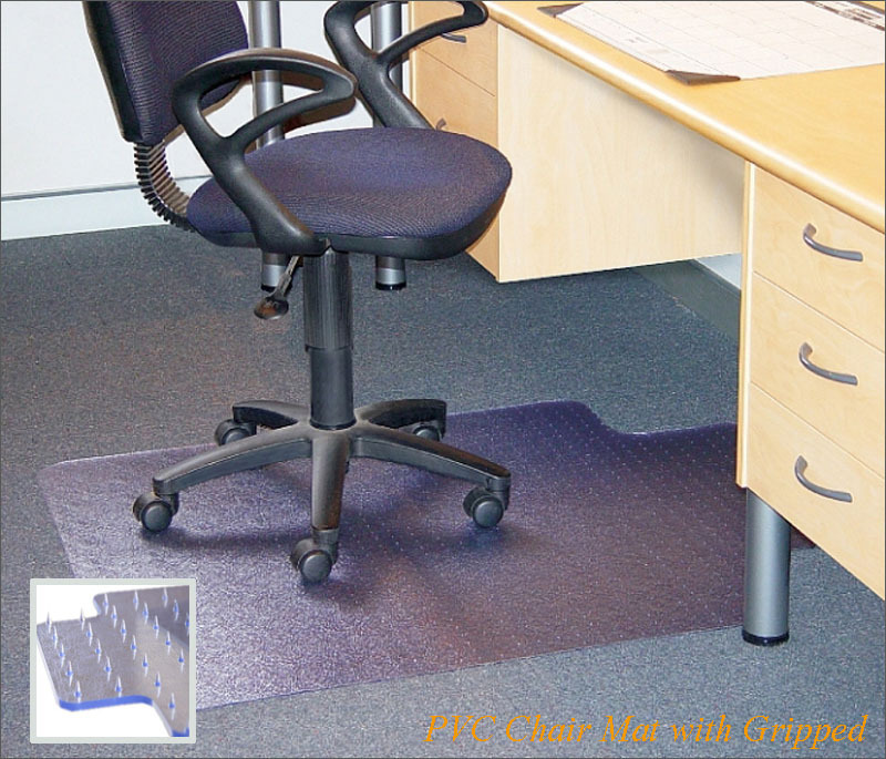 Clear Office Decorative Vinyl Floor Mats Carpet Protector .