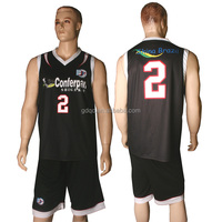 Healong Sublimation Printing Quick Dry Usa Mens Basketball Jersey