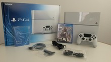 SPECIAL OFFER For SONY PLAYSTATION 4 PS4 500GB WHITE CONSOLE 10 GAMES