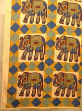 elephant printed bedsheets beach, picnic, dorm curtains, wall hangings, seperators