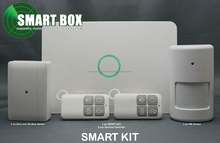 SMART BOX defensive alarm and notification system