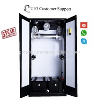 Garden Greenhouse Hydroponic Indoor Plant Growing Kit Portable box Cabinet mini greenhouse farming with ballasts