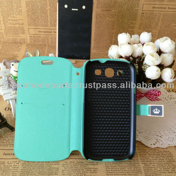 Oracle Skin Wallet Leather flip case cover For S3 i9300