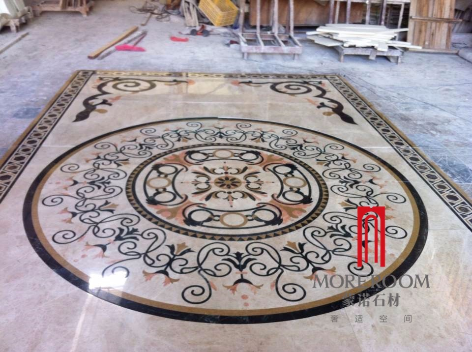 Foyer Tile Utah : Big size outstanding designs waterjet medallion foyer