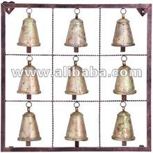 de hierro forjado 9 campanas