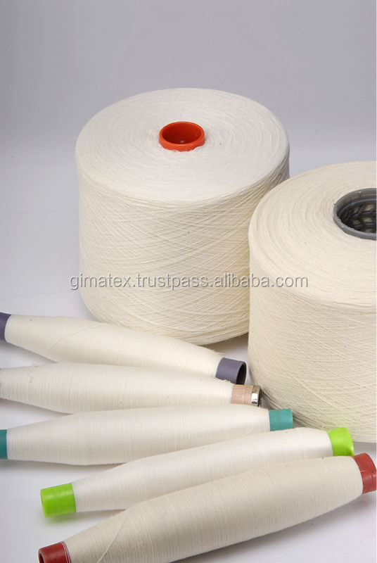yarn quality improvement in vortex yarn Disclosed is a method for preparing a vortex-spun high-count yarn, comprising the following steps: 1) raw material selecting and blending and 2) a spinning process.