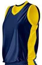 Practice basketball jerseys reversible
