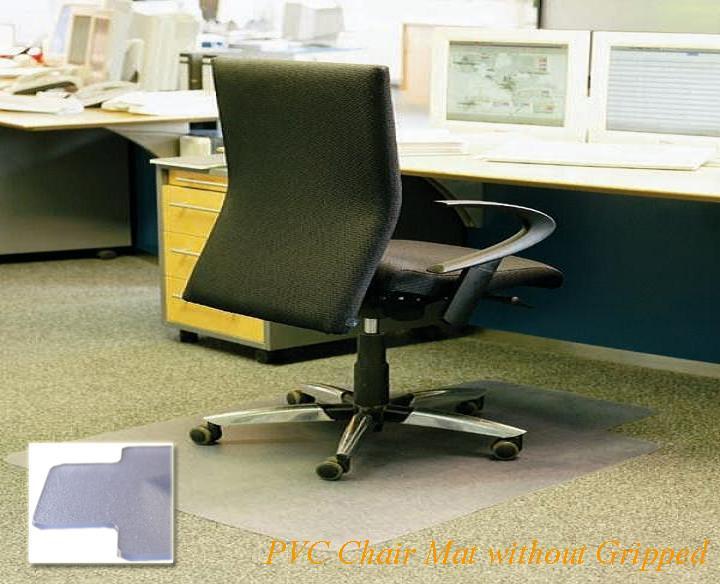clear office decorative vinyl floor mats carpet protector runner chair mat for hardwood floors. Black Bedroom Furniture Sets. Home Design Ideas