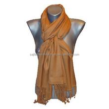 Plain Solid Color black hijab scarf Solid Shawl wholesale stole Viscose pashmina scarves scarf