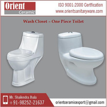One Piece Toilet From Reputed Ceramic Sanitaryware Manufacturers and Exporters