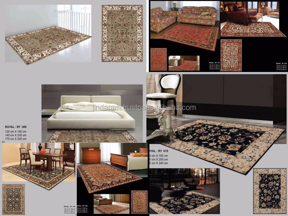 New style polysilk handtufted carpet collection.JPG