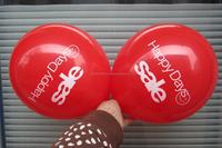 Christmas rubber latex balloon printing balloon/thick export rubber balloon