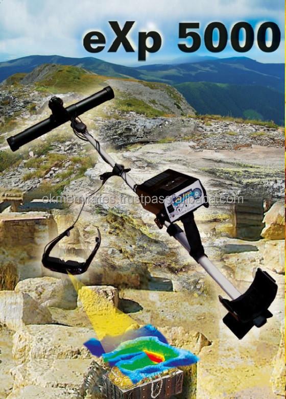 Okm exp 5000- gpr radar, canlı tarama, altın dedektörü