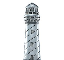 PEWTER LIGHTHOUSE MAGNET