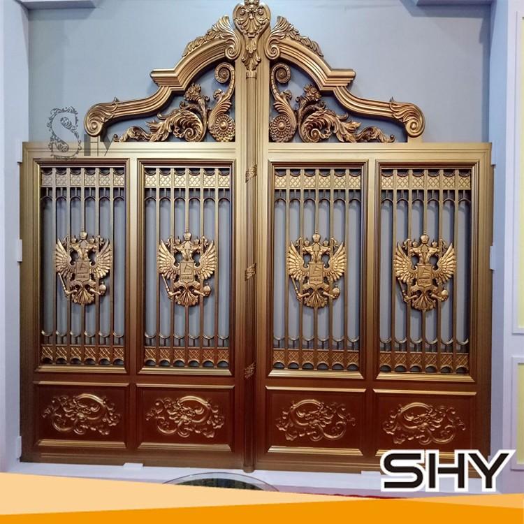 Home Design Gate Ideas: Aluminium Door Grill Designs Main Gate Designs/new House