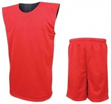 100% Polyester Cut and Sew Basketball Uniform
