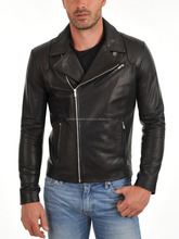 2015 Fashion Men Leather PU Genuine Cheap Faux Men Leather Jacket With High Quality For Men Leather Coat