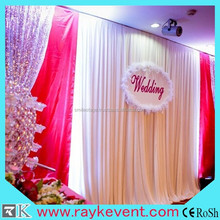 Best selling church curtains backdrop pipe and drape for sale