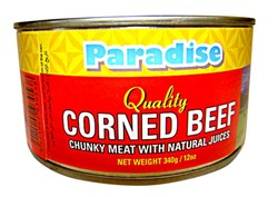 Paradise Brand Canned Corned Beef