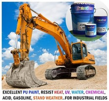 PU Paint resist heat, water, UV, chemicals, stand weather for Exterior surfaces of Industrial fields JONA PU