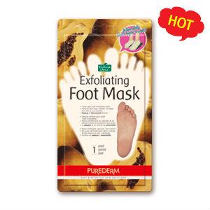 Exfoliante máscara del pie