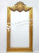 Wooden Decoration carving Frame Mirror