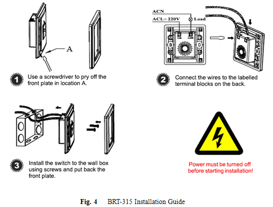 220v pir vacancy sensor switch for led light