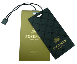 High Quality Thick Paper Hang Tags For Handbags Jeans And Garment