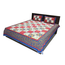 indian multi colored printed cotton bed sheet Luxury 100% Cotton 400T Hotel Bedding/Used Hotel Bed Sheets