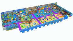 Multifunction games ocean theme kids indoor playground for sale