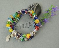 Gets.com millefiori glass free friendship bracelet design