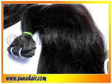 100% top quality indian wavy remy and straight hair extension