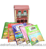 Malacca Health Food Gift Pack with 5 Difference Type Of Instant Brown Rice Cereal Sachet Type, A Small Souvenir Gift Pack