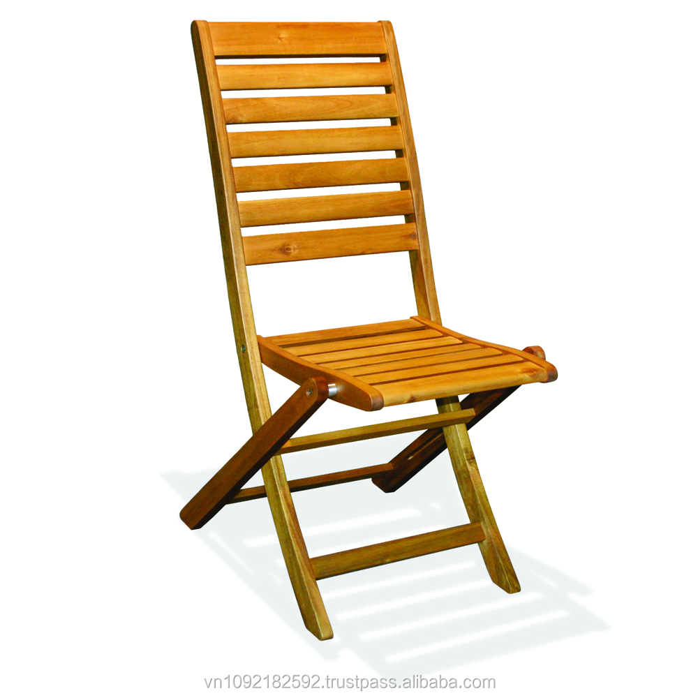 Mojo folding chair garden furniture wooden chair outdoor for Better homes and gardens furniture customer service phone number