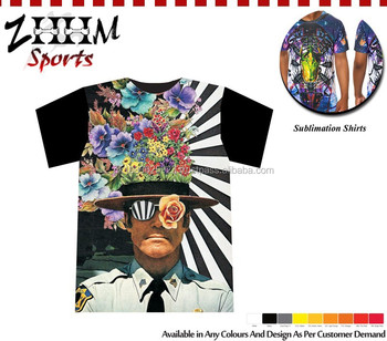 High Quality All Over Dye Sublimation Printing T Shirt