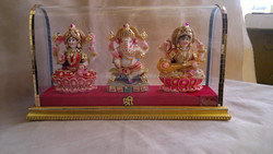 Decorative Shiv Family with Gold Plated jwellery exclusive gift for wedding & return gift