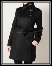 100% cashmere lightweight women winter coats with a stylish design
