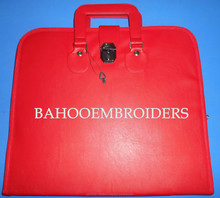 Red Leather Apron Soft Case