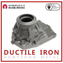 Differential carrier for heavy equipment parts (OEM ductile iron casting)